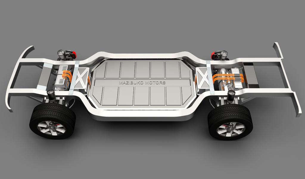 Mazibuko Motor Company - Electric Skateboard Platform 2