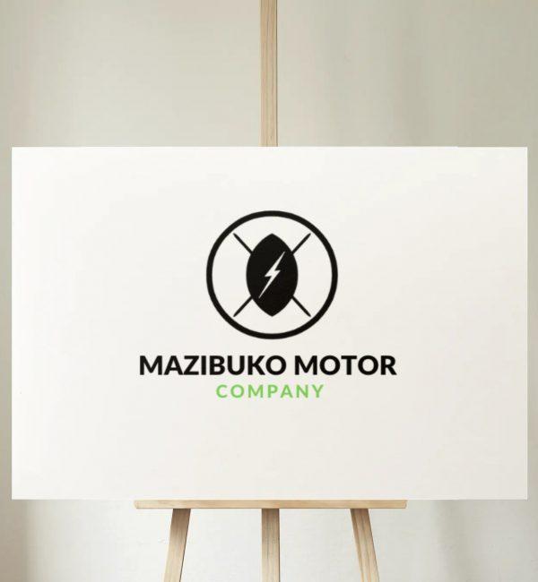 Mazibuko Motor Company Logo Frame